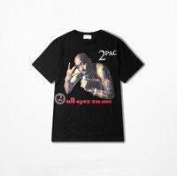 anderson long sleeve - Mens Rock Band T Shirt Black Crew Neck Short Sleeve Rapper Big Sean Michael Leonard Anderson PAC Printed