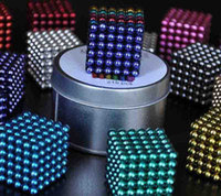 Wholesale 216 Diameter mm Colorful The Neocube Neodymium Toy Neo Cubes Puzzle Cube Toy Sphere Magnet Magnetic BuckyBalls