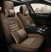 aspen set - Thick car seat cushion car seat covers Elegant design Coffee color bicolors Black Gray for CHRYSLER M ASPEN