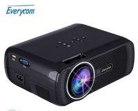 Wholesale Original Everycom X7 Mini Projector Full Hd p Video LED Projector Lumens Hdmi Home Theater LCD TV Beamer Multimedia USB