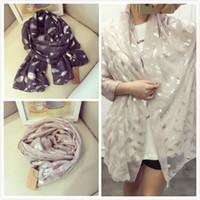 al por mayor bufandas de seda-(NO45) Bufanda de seda de la nueva de la mujer de la bufanda del algodón de la bufanda de 2016 bufandas de seda de señora Long Shawl del diseñador Pashmina 222 de la mujer