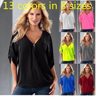 Wholesale Large Size XL Womens Clothing Slim Chiffon Shirt Women s T shirt Europe Women T Shirt