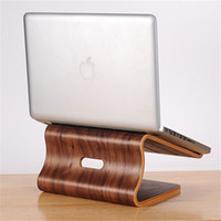 Wholesale SamDi Wood Wooden Laptop Cooling Stand Holder Dock Tray for Macbook Pro quot