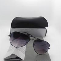 achat en gros de lunettes sport cadres pour les hommes-Nouveaux lunettes de soleil pour les femmes Homme Cadre Marque Designer 54mm Taille UV400 Protection lunettes Vintage Lunettes de soleil rétro avec Box Cases