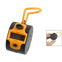 Wholesale JFBL X Orange Black Plastic Number Golf Digital Hand Tally Counter