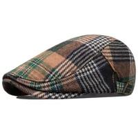 Venta al por mayor-2015 venta se apresuraron Boina Feminina sombreros para las boinas Boina hombres otoño y invierno hombres de la tapa de compras Vintage Moda Casual Personality