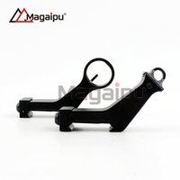 Wholesale Magaipu Whosale High Quality Tactical Metal Iron Front and Rear Sight Offset Degree Angled gun sight