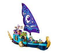 Wholesale 10411 elf series water sprite Na IDA s epic adventure ship girl assembling building block toy