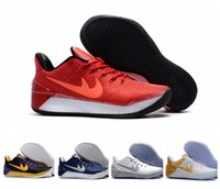 ad flat - 2017 Top Quality Kobe A D EP Basketball Shoes Mens White Bryant Kobes XII Elite Sports KB s AD Elite Low Sports Trainers Sneakers