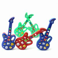 Red baby rhymes - Fantastic Child Baby Kids Children Electronic Guitar Sound Rhyme Developmental Music Instrument Educational Toy