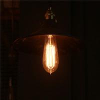 Wholesale Vintage Edison Lamp ST58 Bulbs E26 E27 B22 holiday lights w V V Retro lamp Lighting