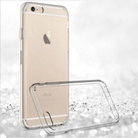 Wholesale For Iphone PLUS Samsung Note S7 Iphone s Crystal Gel Case for iPhone s Plus Ultra Thin transparent Soft TPU Cases Clear