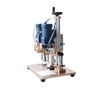 automatic bottle capper - 2016 new semi auto electric spray capper capping machine multifuncional Bottle Capper