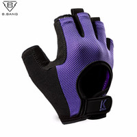 Wholesale B BANG Half Finger Fitness Workout Running Gloves Sport Gloves Man Women Outdoor Multi function Glove Exercise Training Glove