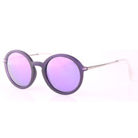 beige shade - 2016 Rushed High Quality Women Round Sunglasses Retro Vintage Unisex Shades Highstreet Circle Rock Men Sun Glasses with Original Package