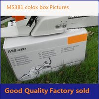 Wholesale MS381 chainsaw high quality cc gasoline chainsaw family garden tools for wood cutting
