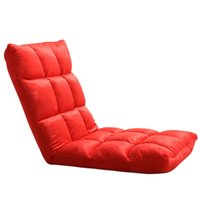 Wholesale Creative Floor Sofa Chair Folding Adjustable Floor Chair Sleeper Chair Bed Living Room Furniture Lazy Couch Modern Single Sofa JC0070