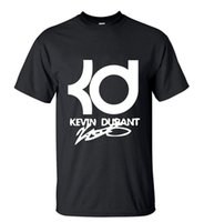 Wholesale New Arrival Mens Streetwear KD Printed T Shirt Men s Summer Fashion Short Sleeve O Neck T shirts High Quality Casual Tops Tee