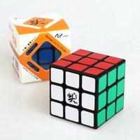DaYan cubo de velocidad 3x3x3 cubo rompecabezas mágico cubo Puzzle Twisty rompecabezas niños educativos