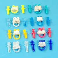 Wholesale Swimming Soft Nose Clip Ear Plug Earplug Water Swim New