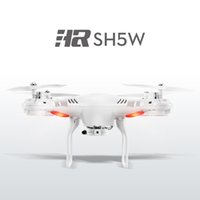 Wholesale New Original SH5W MP Camera WiFi FPV RC Drone Funny Outdoor Sport Toys G CH axis Gyro RC Quadcopter Headless Mode