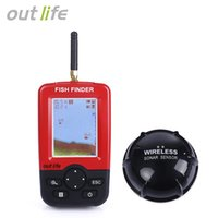 Wholesale Outlife Smart Portable Fish Finder with Wireless Sonar Sensor for Lake Sea Fishing