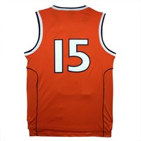 basketball jersey throwbacks - University carmelo anthony Jersey cheap Throwback Basketball Jerseys Stitched embroidery Logos S XL Orange color