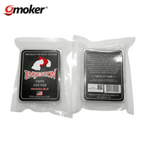 Cigarrillo Electrónico Auténtico Premium Wicking Algodón Engeston Vape Algodón Original Célula Saludable Para RDA RBA Atomizer Coil Wick