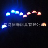 Wholesale 7 colour flashing LED gloves gloves glowing finger electronic stage magic finger gloves DHL delivery