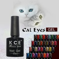 Gel Polish cat eye art - Nail Gel Polish Gel LED UV Nail Art Manicure Cat Eye Gel QQ Barbie Nail Polish Oil Color