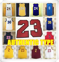 authentic sport jerseys - AUTHENTIC TYPE Stitched Jersey Westbrook Curry Durant James Irving Michael MJ Kobe Bryant Jerseys Sport Cheap Hot sale Gift