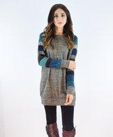 Wholesale New winter render knitting digital printing long sleeve Tess