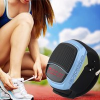 bicycle gold cards - Bluetooth Sports Music Watch Speaker B90 Portable Mini Bicycle Speaker Bluetooth Speaker TF Card FM Audio Radio Speakers