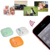 Wholesale Smart Finder Smart Wireless Bluetooth Tracer GPS Locator Tracking Tag Alarm Wallet Key Pet Dog Tracker SAM_307