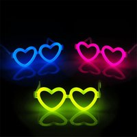 assorted eyeglasses - assorted color glow glasses Luminous Party Glow Sticks Flash Light Sticks EYEGLASSES party event supplies WA1619