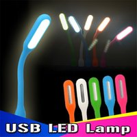 Wholesale USB LED Lamp Light Portable Flexible Led Lamp for Notebook Laptop Tablet PC USB Power