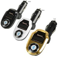 Wholesale 3 Colors BT Car Kit MP3 Bluetooth Player FM Transmitter Modulator SD USB Remote