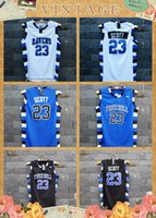 Wholesale TIM VAN STEENBERGEB Nathan Scott One Tree Hill Ravens Jersey All Sewn Colors size small S xl