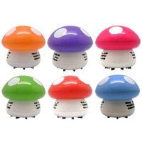 Wholesale Cute Mini Mushroom Corner Desk Table Vacuum Cleaner Sweeper Mini Vacuum Dust Cleaner Random Color
