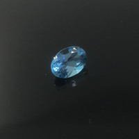 Wholesale Promotion topa quality light blue natural topaz loose gem stone for ring earring or pendant mm mm weight is ct fearless topaz stone