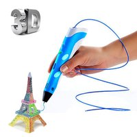 Wholesale 3D Printing Pen With Free Filament mm Best Christmas Birthday Gift For Kids Printer Pens