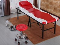 Wholesale Top Rated Momery Foam Portable Massage Table Bed Peofessional Adjustable Salon Tattoo SPA Facial Therapy Massage Bed