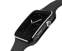 Wholesale Curved Screen X6 Smartwatch Smart Watch Bracelet Phone With SIM TF Card Slot With Camera For LG Samsung Sony All Android Mobile Phone