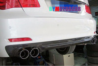 Wholesale H Style Carbon Fiber Rear Lip Diffuser F01 i S Fit For BMW
