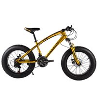 Wholesale 24 inch speed Fat Wheel Snow Bike Mountain Bike MTB Bicycle High carbon Steel Fat Bike