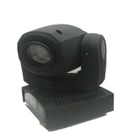 Wholesale W LED Moving Head Spot stage light AC90 V mini moving Gobo Pattern Light channels DMX512