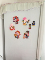 abroad study - new Chinese Peking Opera cartoon icon refrigerator home decoration stick the foreigners gifts to study abroad