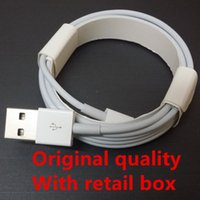 apple sync cable oem - Micro USB Cable Original Quality OEM M Ft M FT Sync Data Cable Charging Cords With Retail Box For Phone Samsung S6 S7 Edge Note E75