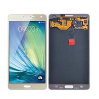 Pour le panneau d'écran de Samsung Galaxy A7 avec l'utilisation originale de qualité pour le repalcement ou le numériseur de lcd de réparation