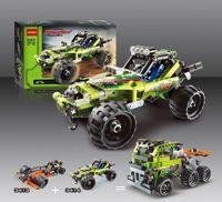 Wholesale 3411 High Technic in warrior off roader racer Car Model D building set Warrior sports car toys Baby kids toys legoe